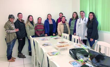 Grupo de gestantes promove o bem-estar