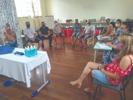 Reunião da equipe da educação reforçou protocolos
